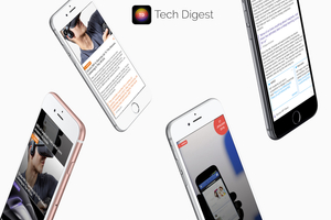 featured image thumbnail for post Tech Digest - iOS App