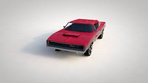featured image thumbnail for post 1968 Dodge Charger (3D Modelling and Animation)